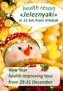 health resort Jeleznyaki health resorts of Belarus rest in Belarus New Year 2020