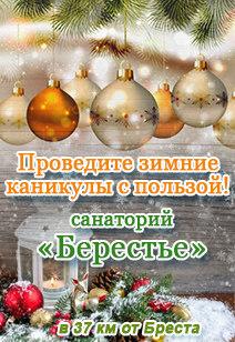 санаторий Берестье санатории Беларуси отдых в Беларуси Новый год 2018