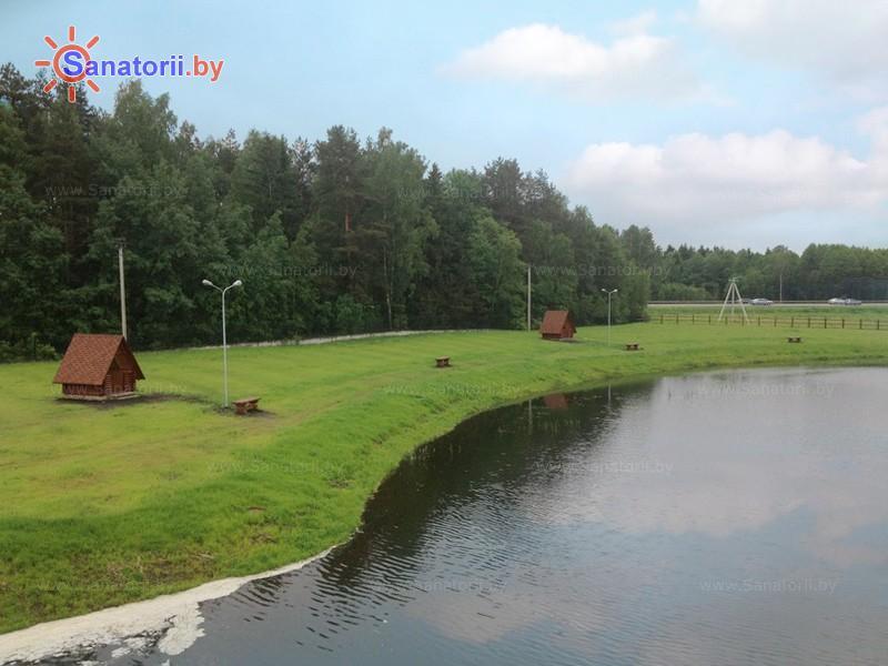 Санатории Белоруссии Беларуси - санаторий Веста - Водоём
