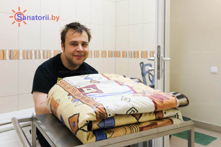 Санатории Белоруссии Беларуси - санаторий Веста - Грязелечение (пелоидотерапия)