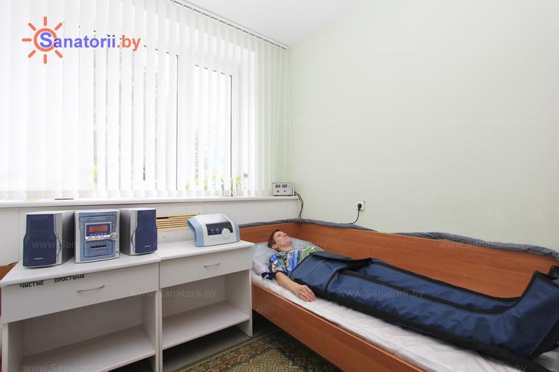 Санатории Белоруссии Беларуси - санаторий Журавушка - Компрессионная терапия
