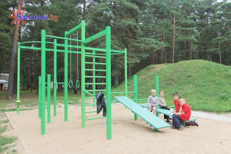 Санатории Белоруссии Беларуси - санаторий Журавушка - Детская площадка