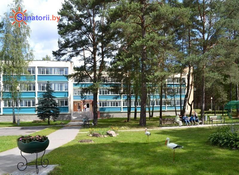 Санатории Белоруссии Беларуси - санаторий Журавушка - спальный корпус №2