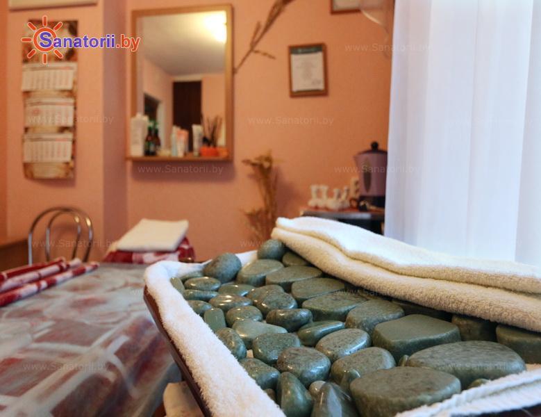 Санатории Белоруссии Беларуси - санаторий Журавушка - Стоунтерапия (массаж камнями)