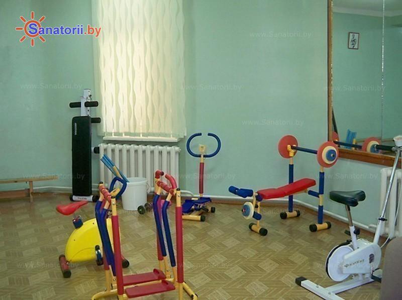 Санатории Белоруссии Беларуси - ОДЦМР Пуховичи - Тренажерный зал (механотерапия)