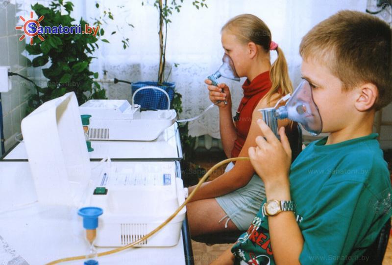 Санатории Белоруссии Беларуси - ОДЦМР Пуховичи - Ингаляции (аэрозольтерапия)