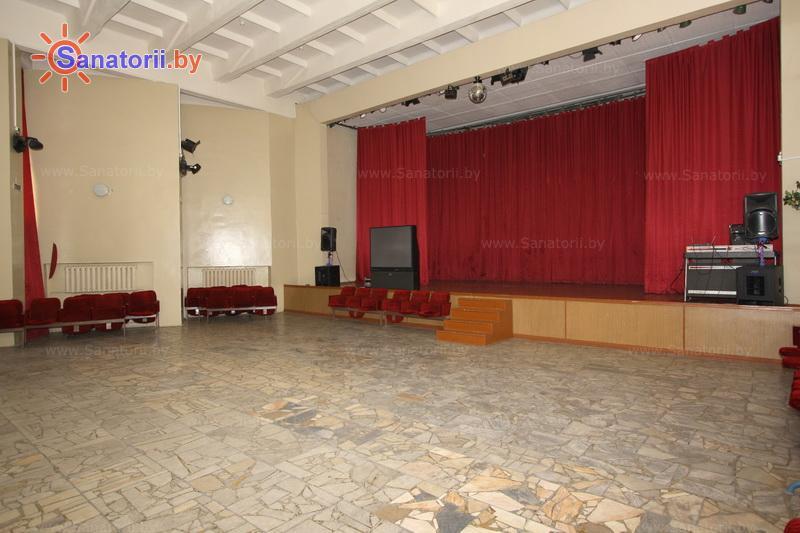 Санатории Белоруссии Беларуси - санаторий Зеленый бор - Танцевальный зал