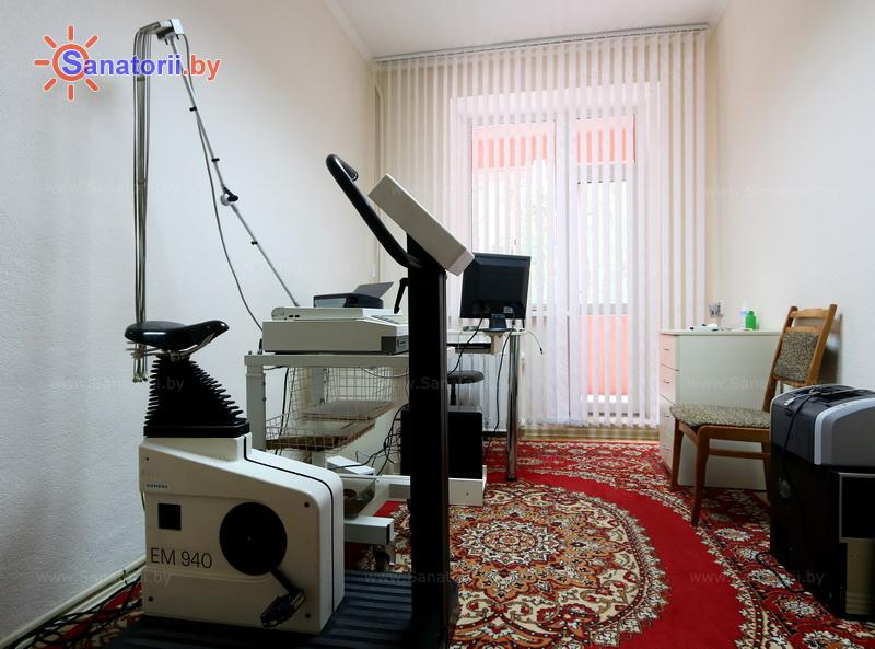 Санатории Белоруссии Беларуси - санаторий Криница - Функциональная диагностика