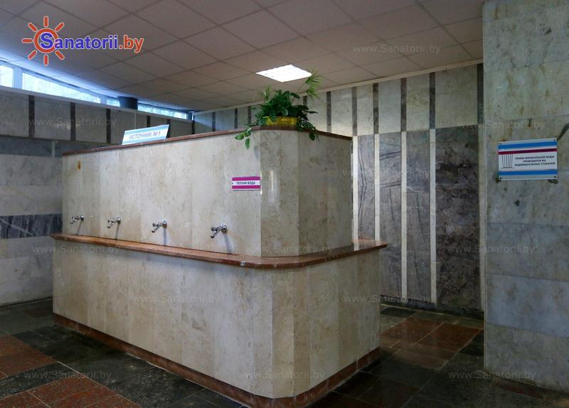 Санатории Белоруссии Беларуси - санаторий Криница - Бювет минеральной воды