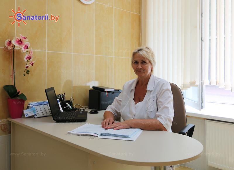 Санатории Белоруссии Беларуси - санаторий Криница - Кабинеты профильных специалистов