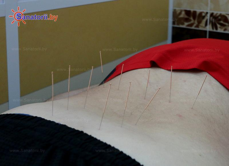 Санатории Белоруссии Беларуси - санаторий Криница - Иглорефлексотерапия