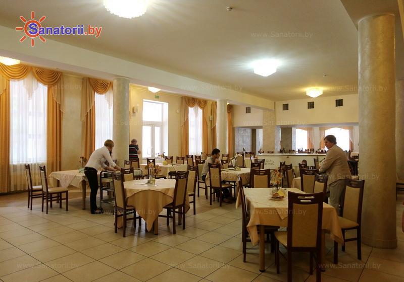 Санатории Белоруссии Беларуси - санаторий Криница - Столовая