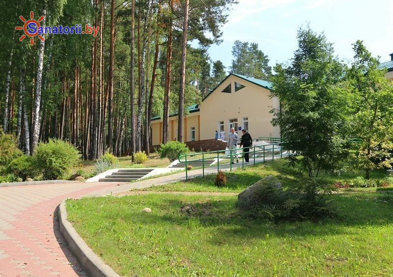 Санатории Белоруссии Беларуси - санаторий Криница - Территория и природа