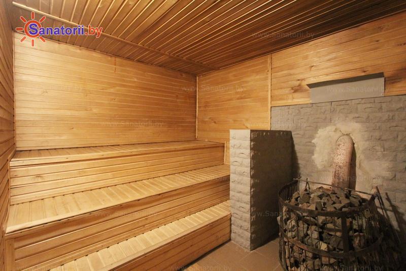 Санатории Белоруссии Беларуси - санаторий Им. В.И. Ленина - Сауна финская