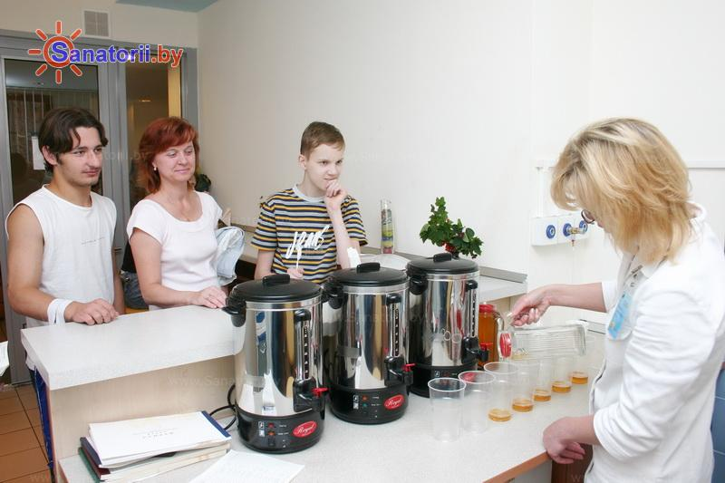 Санатории Белоруссии Беларуси - санаторий Озёрный - Фитотерапия