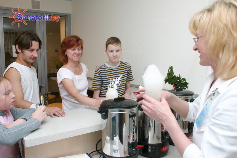 Санатории Белоруссии Беларуси - санаторий Озёрный - Оксигенотерапия (кислородотерапия)