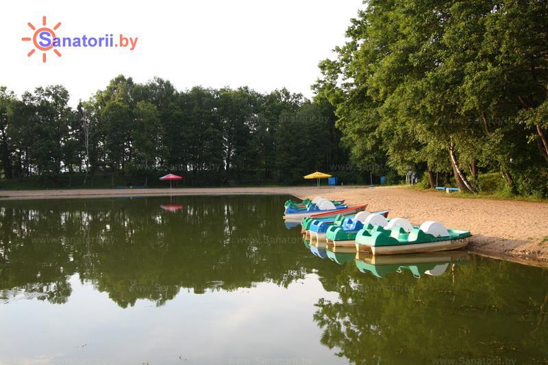 Санатории Белоруссии Беларуси - санаторий Озёрный - Прокат лодок