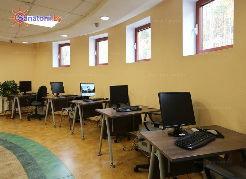 Санатории Белоруссии Беларуси - санаторий Озёрный - Интернет