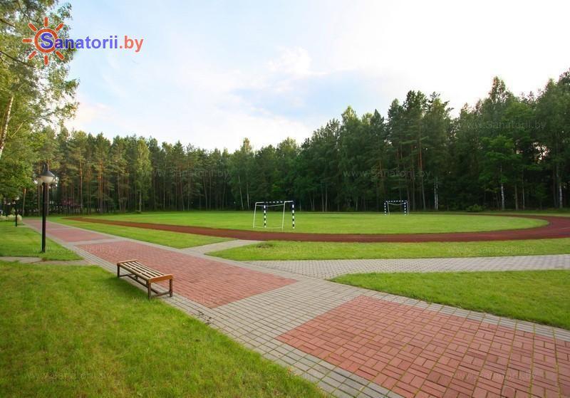 Санатории Белоруссии Беларуси - санаторий Озёрный - Спортплощадка