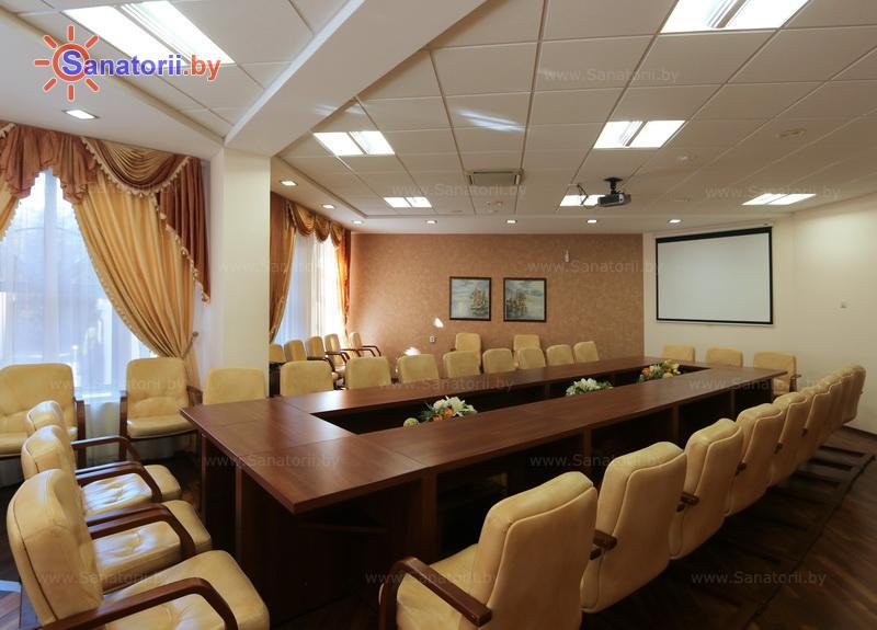 Санатории Белоруссии Беларуси - санаторий Озёрный - Конференц-зал