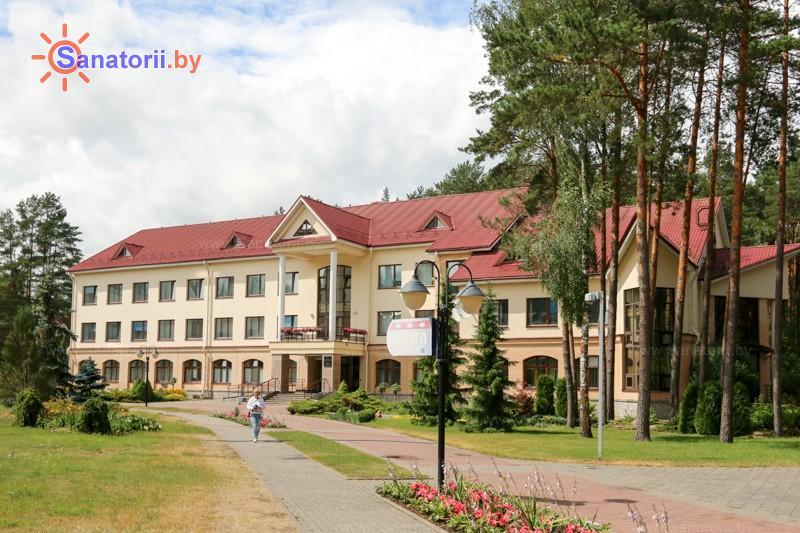 Санатории Белоруссии Беларуси - санаторий Озёрный - лечебный корпус