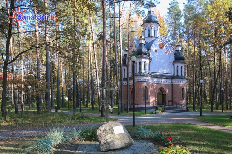 Санатории Белоруссии Беларуси - санаторий Озёрный - Территория и природа