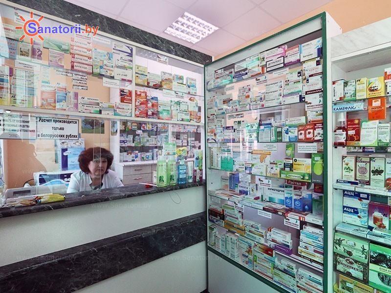 Санатории Белоруссии Беларуси - санаторий Чёнки - Аптечный киоск