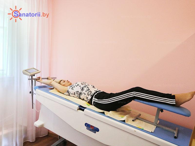Санатории Белоруссии Беларуси - санаторий Чёнки - Вытяжение позвоночника сухое