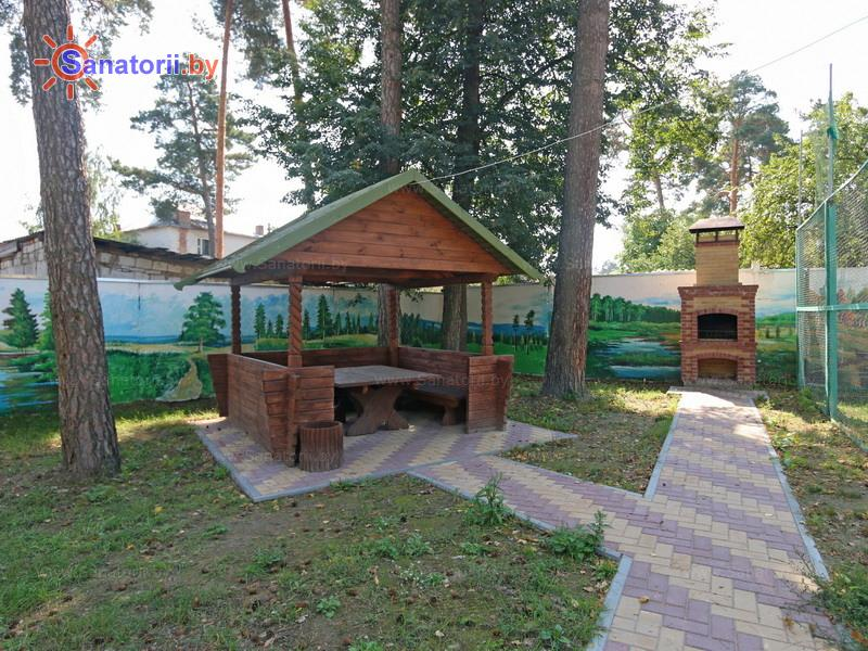 Санатории Белоруссии Беларуси - санаторий Чёнки - Площадка для шашлыков