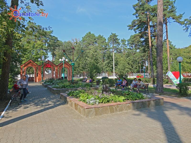 Санатории Белоруссии Беларуси - санаторий Чёнки - Территория и природа