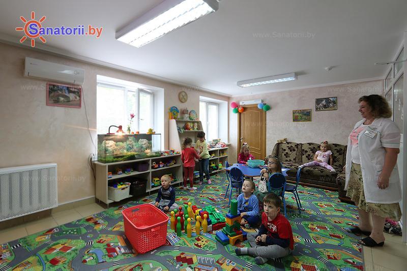 Санатории Белоруссии Беларуси - санаторий Чёнки - Детская комната