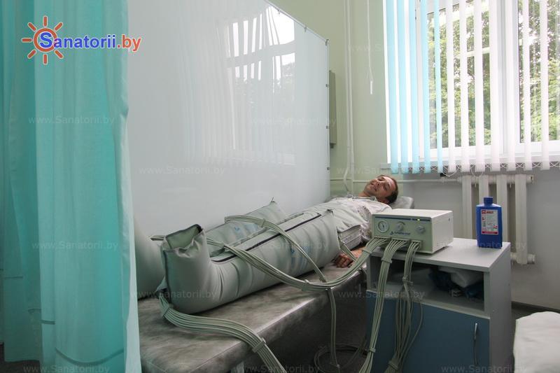 Санатории Белоруссии Беларуси - санаторий Лепельский военный - Компрессионная терапия