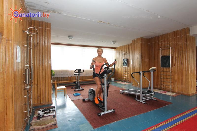 Санатории Белоруссии Беларуси - санаторий Лепельский военный - Тренажерный зал (механотерапия)