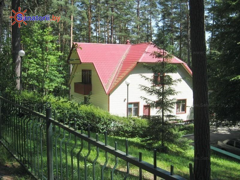 Санатории Белоруссии Беларуси - санаторий Лепельский военный - коттедж