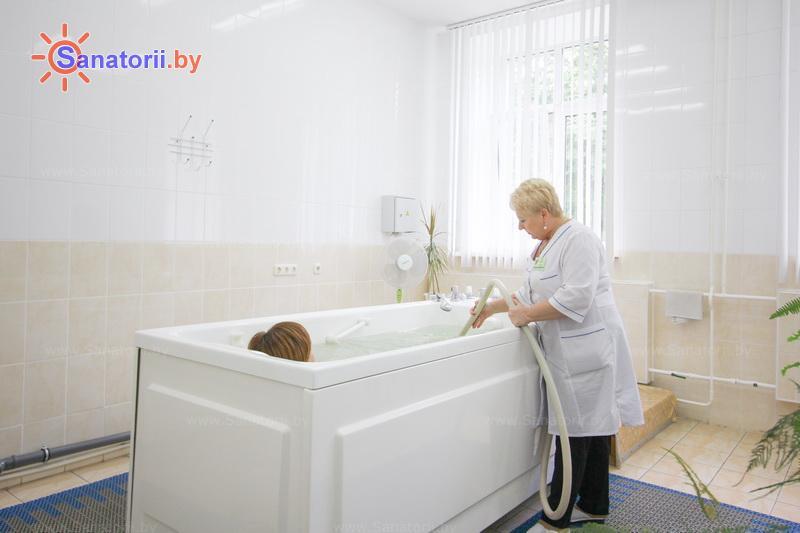 Санатории Белоруссии Беларуси - санаторий Лепельский военный - Душ-массаж подводный