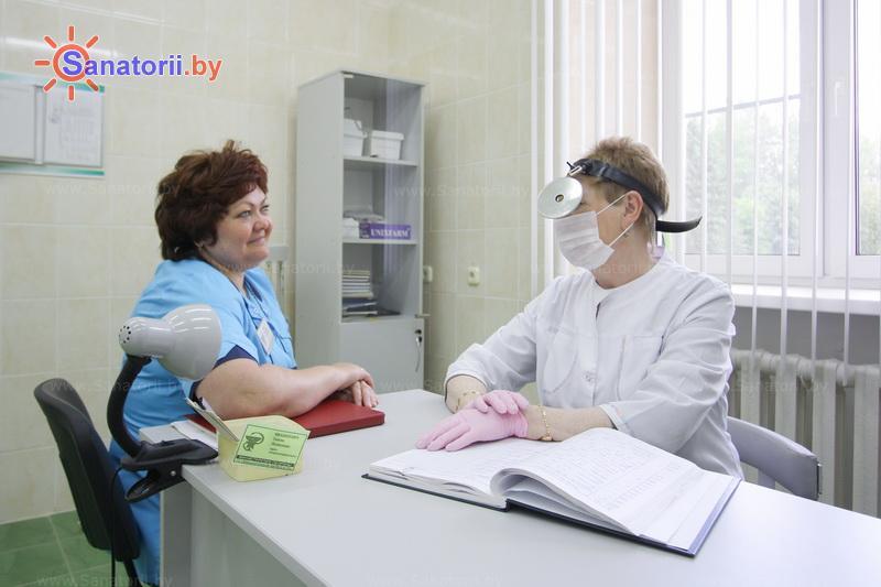 Санатории Белоруссии Беларуси - санаторий Лепельский военный - Оториноларингология