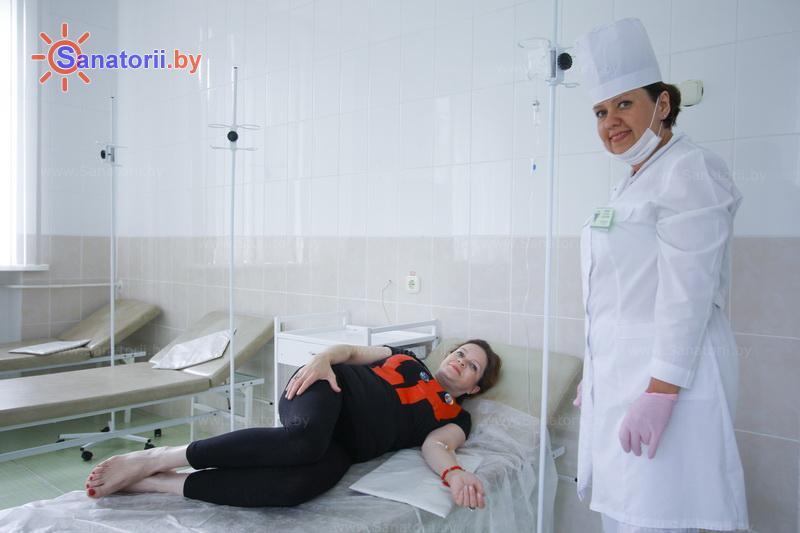 Санатории Белоруссии Беларуси - санаторий Лепельский военный - Процедурный кабинет
