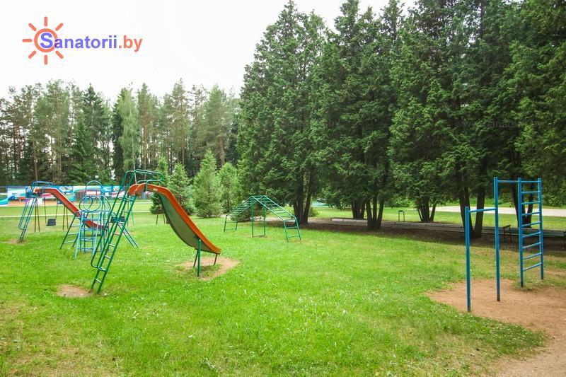 Санатории Белоруссии Беларуси - санаторий Лепельский военный - Детская площадка