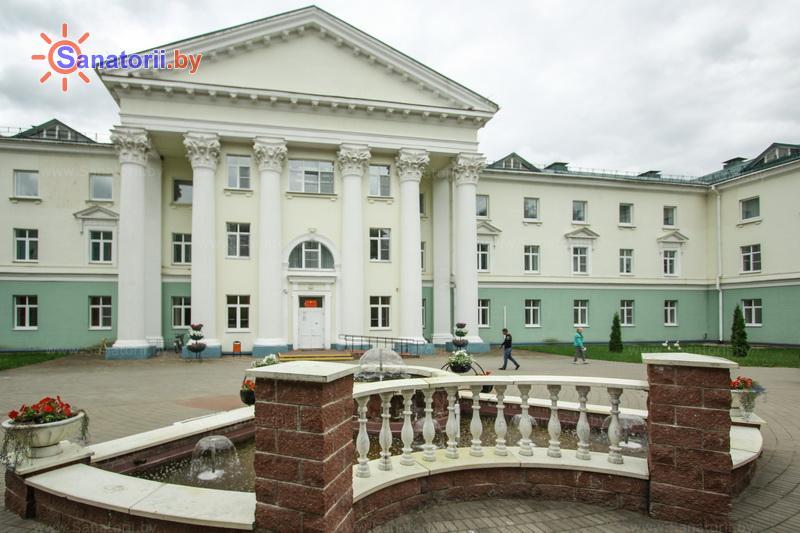 Санатории Белоруссии Беларуси - санаторий Лепельский военный - лечебно-диагностический корпус