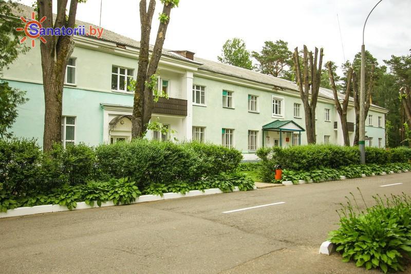 Санатории Белоруссии Беларуси - санаторий Лепельский военный - спальный корпус №3