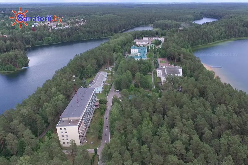 Санатории Белоруссии Беларуси - санаторий Лепельский военный - Территория и природа