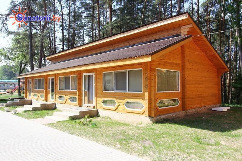Санатории Белоруссии Беларуси - санаторий Лесные озера - коттедж