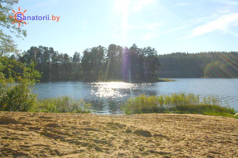 Санатории Белоруссии Беларуси - санаторий Лесные озера - Водоём