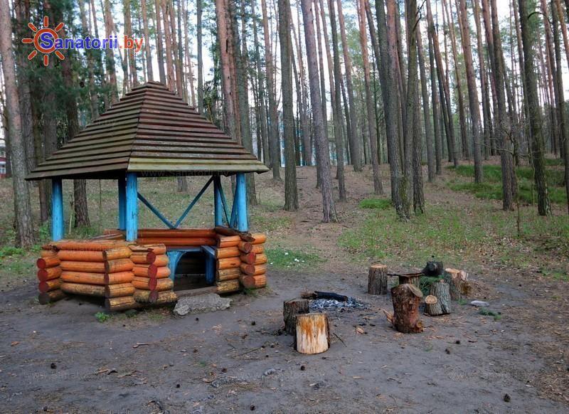 Санатории Белоруссии Беларуси - санаторий Лётцы - Площадка для шашлыков
