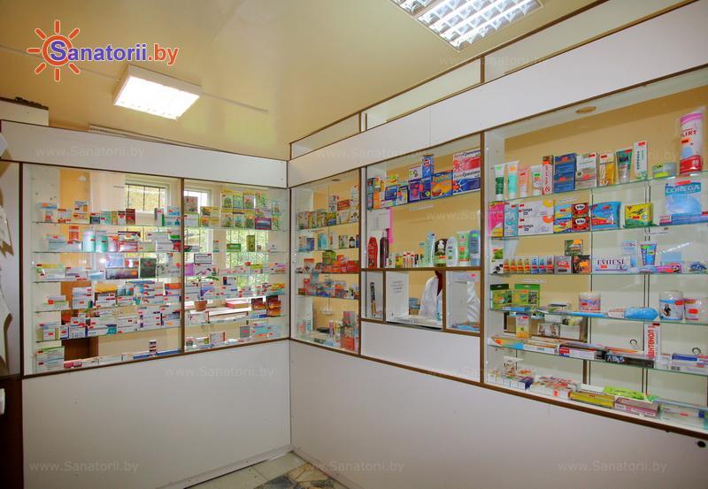 Санатории Белоруссии Беларуси - санаторий Лётцы - Аптечный киоск