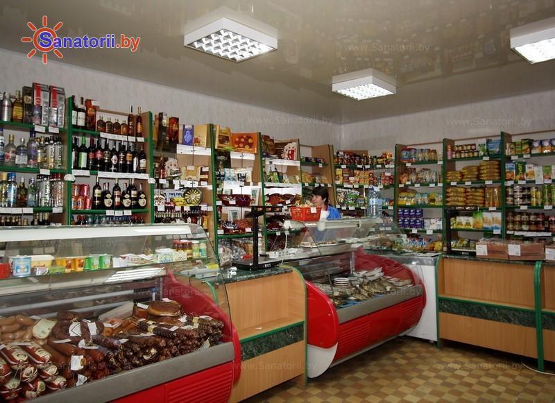 Санатории Белоруссии Беларуси - санаторий Лётцы - Магазин