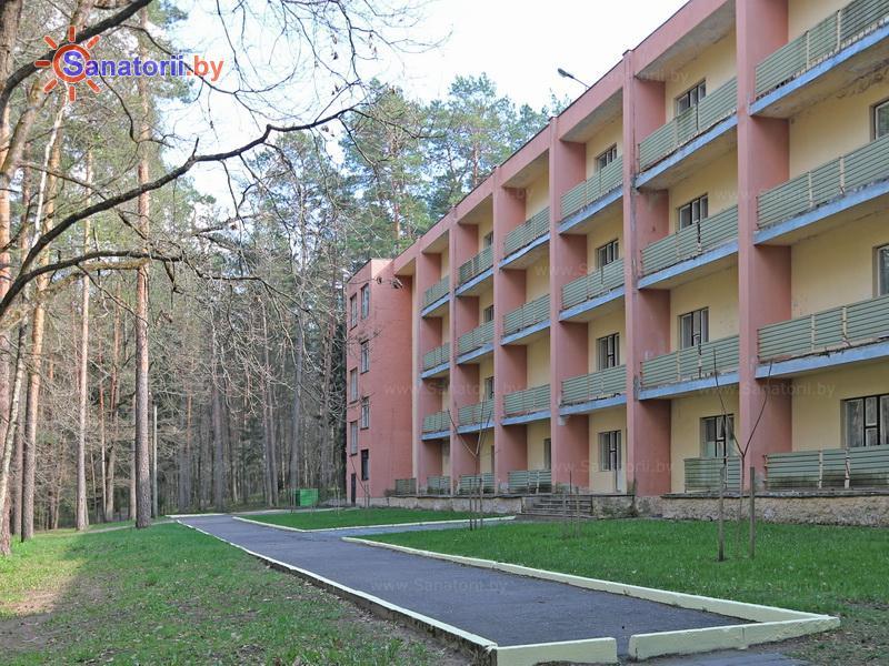 Санатории Белоруссии Беларуси - санаторий Лётцы - спальный корпус №5