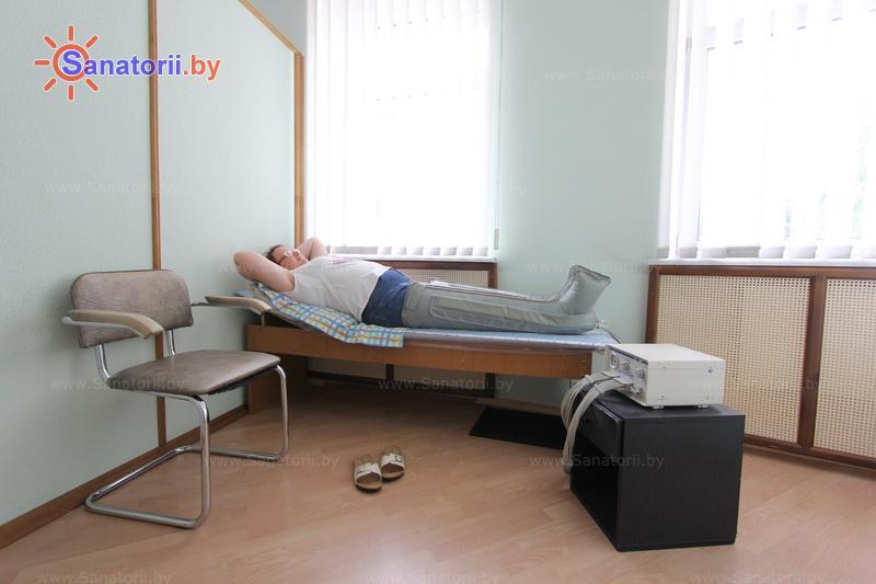 Санатории Белоруссии Беларуси - санаторий Магистральный - Компрессионная терапия
