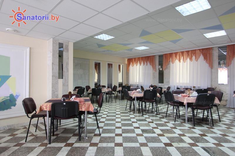 Санатории Белоруссии Беларуси - санаторий Магистральный - Столовая