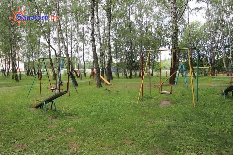 Санатории Белоруссии Беларуси - санаторий Магистральный - Детская площадка